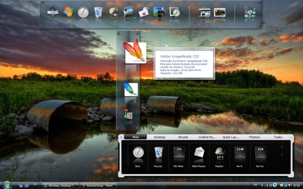 ultimate Use Winstep Nexus Dock as a FREE professional dock for  Windows 7