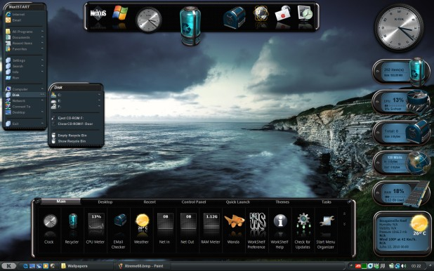 winstep desktop themes